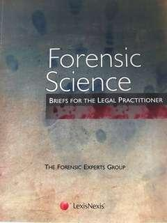 Forensic Science - Briefs for Legal Practitioners