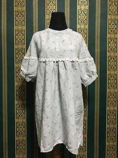 Feather Dress / Baju Terusan