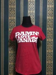 Damn I Love Manado Shirt / Kaos