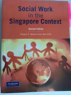 Social Work in the Singapore Context - by Mehta (2nd Ed)