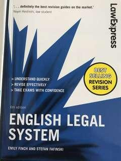 Law Express - English Legal System (minimal highlights)