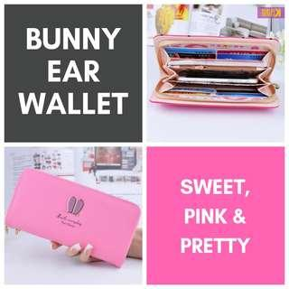 BN Pink Bunny Ear Wallet (Perfect for CNY/Valentine's)