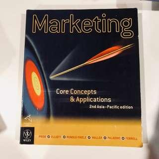 Marketing Core Concepts and Application