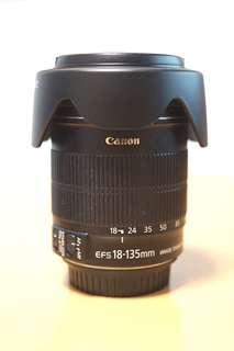 Canon EF-S 18-135mm IS Lens 鏡頭