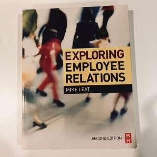 EXPLORING EMPLOYEE RELATIONS BY MIKE LEAT