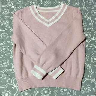 PINK FUDGE ROCK SWEATER