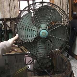 古董—大同鐵製電扇