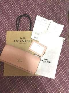 Authentic Coach Bi-fold Wallet with ID case