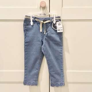Baby b'gosh blue jeans