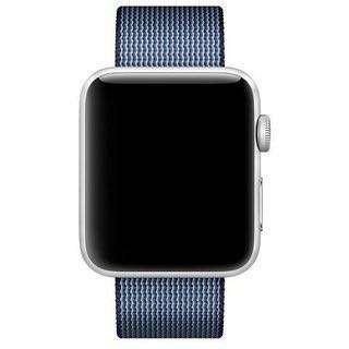 Apple Watch Woven Nylon Midnight Blue Band 42mm