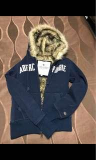 A&F 毛毛hoodie