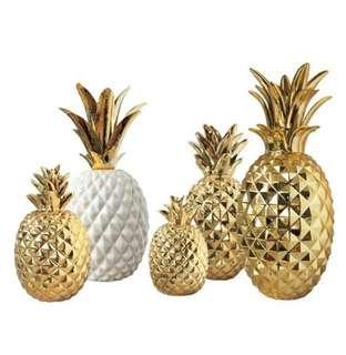 Instock Pineapple Huat Decor Display