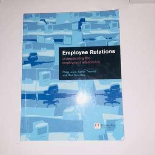 EMPLOYMENT RELATIONS (understanding the employment relationship) #CNY888