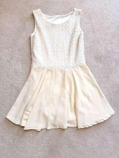 🌼Pretty Cream Dress🌼