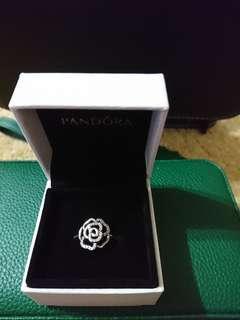 Pandora Ring Shimmering Rose