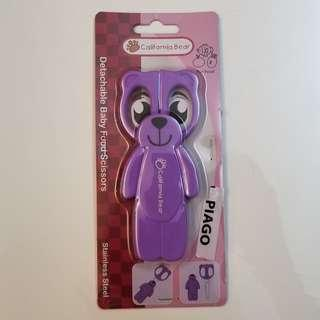 可拆式食物剪刀California Bear Detachable Baby Food Scissor
