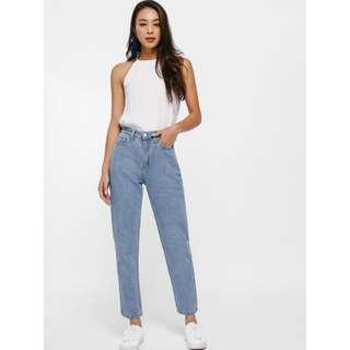 MOM FIT JEANS high-waist (Trendy)
