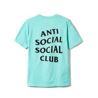 assc teal green shirt authentic