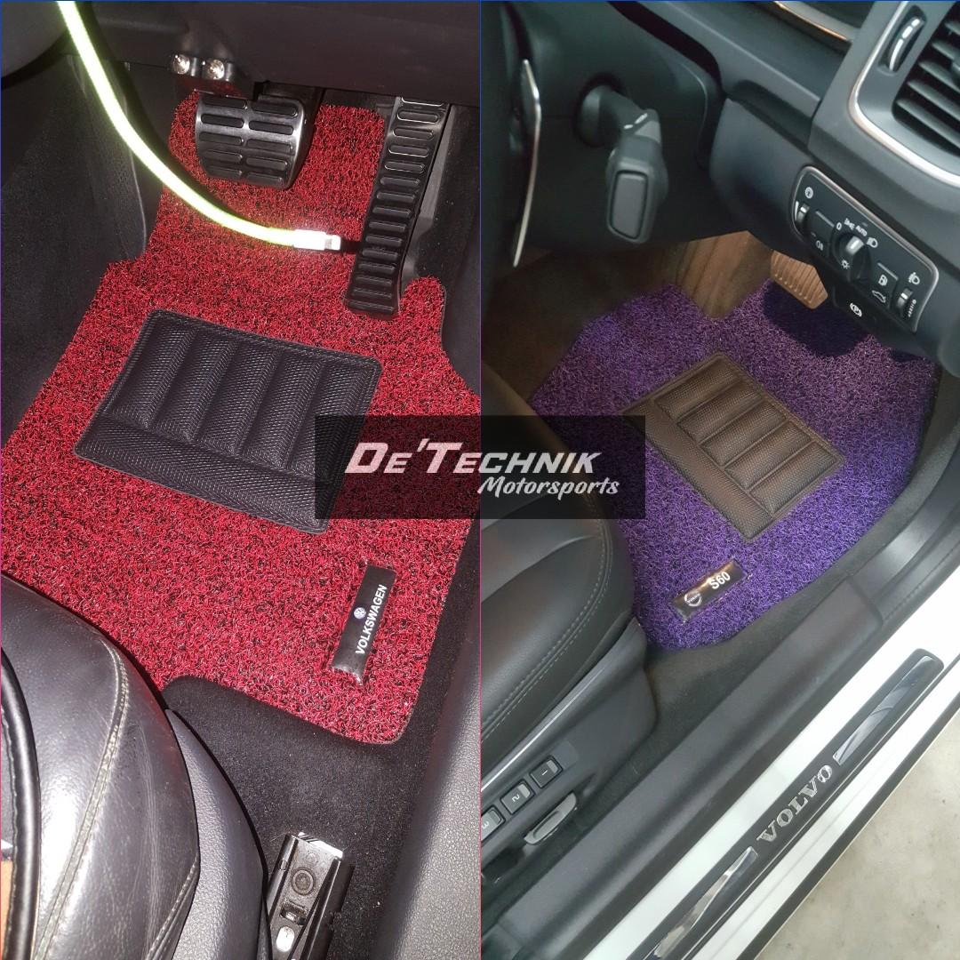 2 Tone Car Carpets Car Mats Floor Mats Car Accessories
