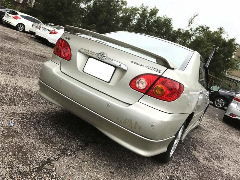 【全額貸】二手車 中古車 2002年 ALTIS 1.8Z 銀色