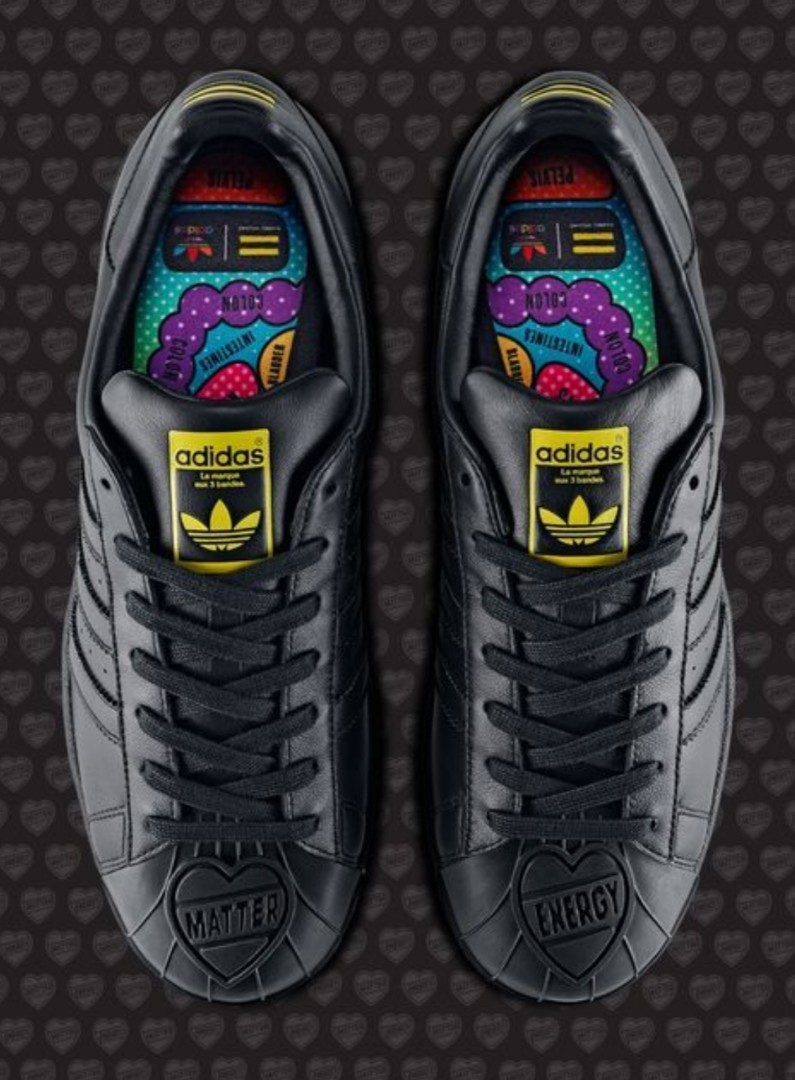 Adidas Superstar x Pharrell Williams Black,