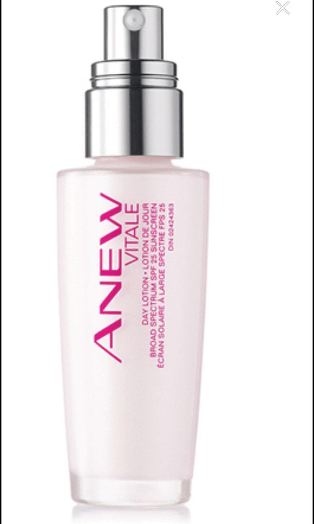 Anew Vitale Day Lotion Broad Spectrum SPF 25 Sunscreen reg.  $32.00