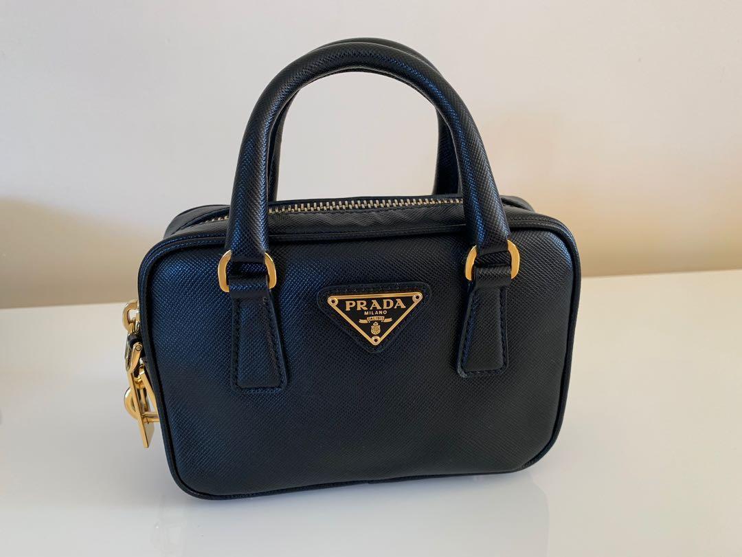 Authentic Prada Saffiano Lux Mini crossbody bag