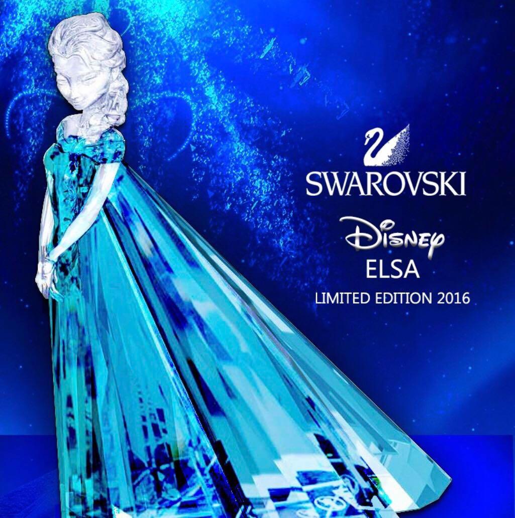 dd1f1798993 Authentic Swarovski Elsa