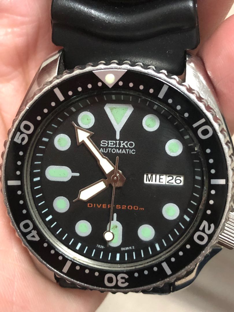197af977c Automatic Seiko Divers Watch (200m), Men's Fashion, Watches on Carousell