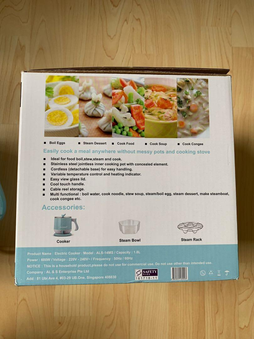 Brand New In Box 1.8L Electric Cooker