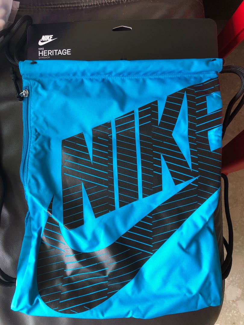 bf90b25ac Brand New Nike Heritage Gymsack, Sports, Sports Apparel on Carousell