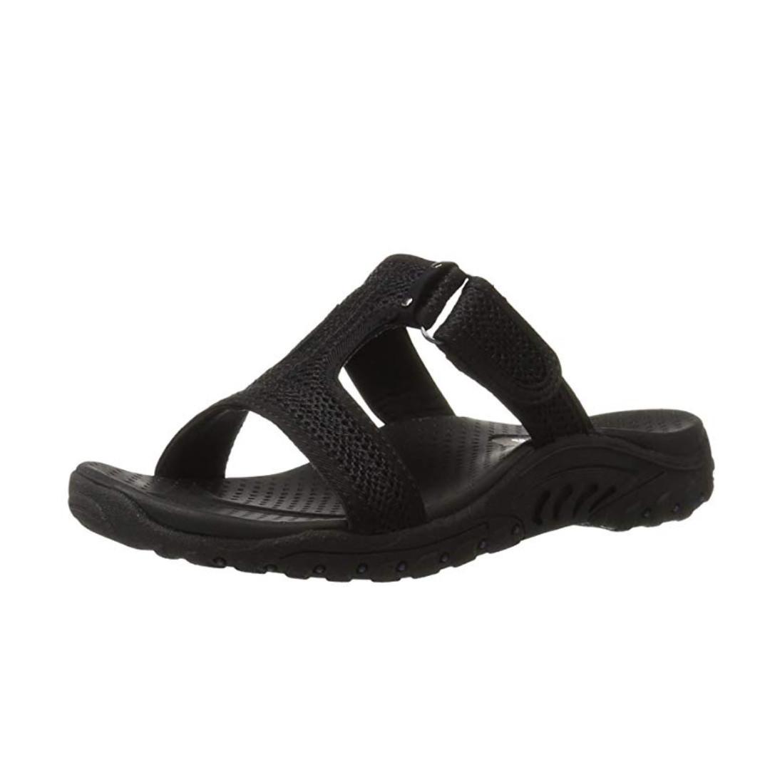 bbce99062bc BRAND NEW Skechers Womens T-bar Sandals not scholl clarks pedro no ...