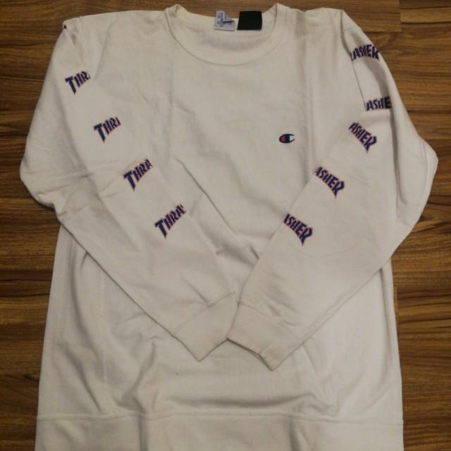 68c4c48a Champion X Beams X Thrasher Japan Collab, Men's Fashion, Clothes ...