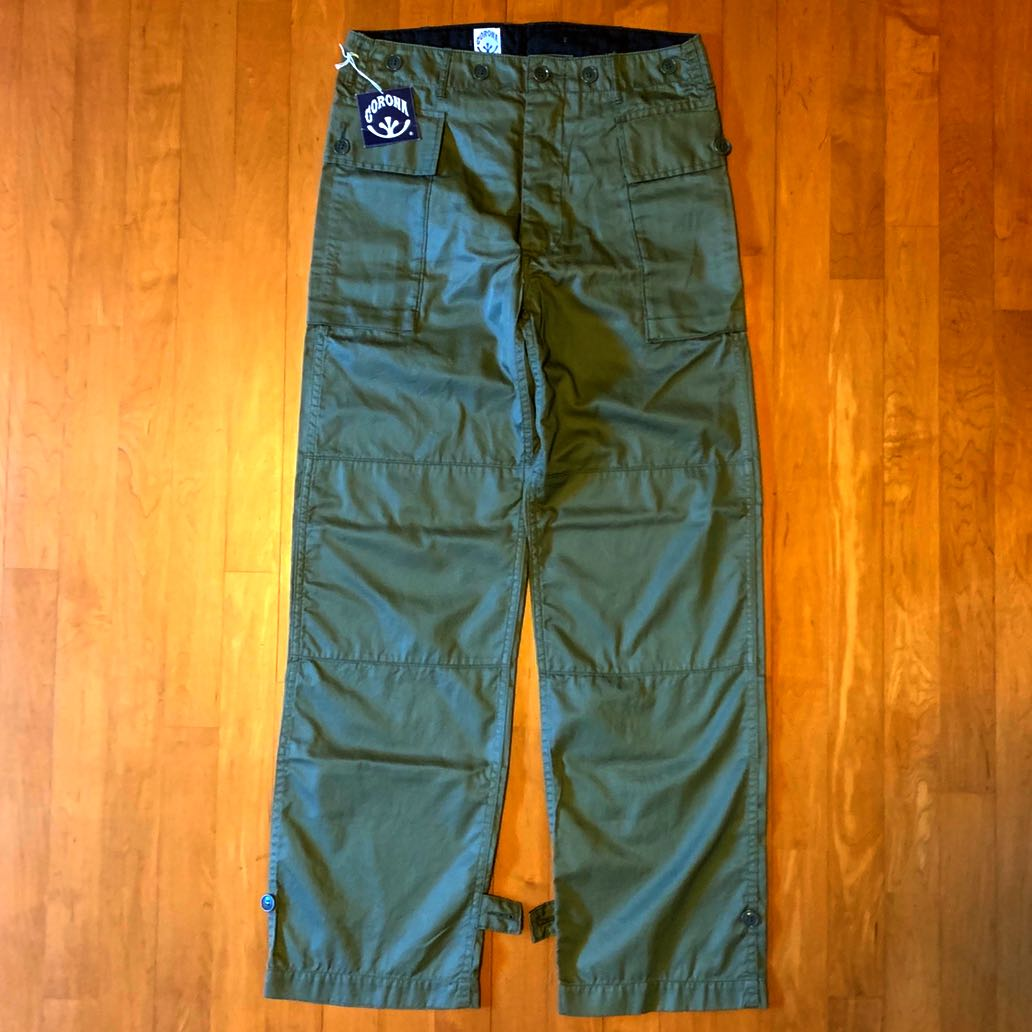 3bba528807 Corona US Army Fatigue Pants Olive Drab S Made in Japan, Men's ...