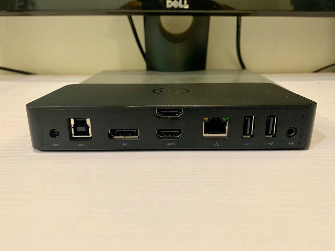 Dell Docking Station – USB 3 0 (D3100) with Charger 4K