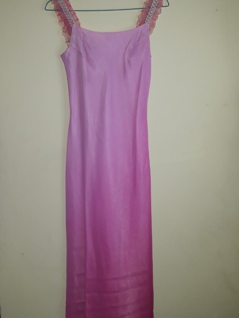 Dress pink gradasi