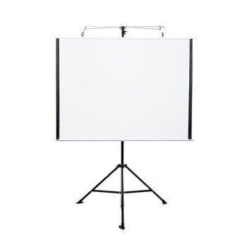Foldable Projector Pull-Up White Screen, Home Appliances