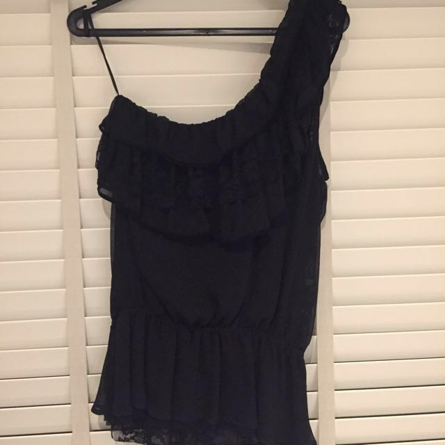 Guess Lace Toga Top