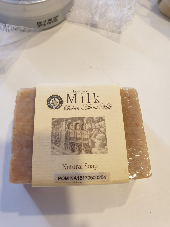 Handmade natural soap from Bali