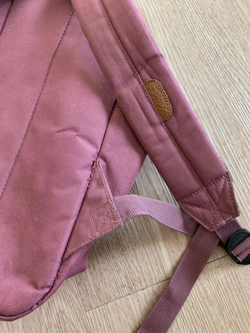 Herschel Backpack in light purple school bag