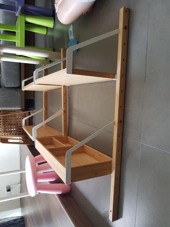 Ikea SVALNAS wall-mounted storage shelves