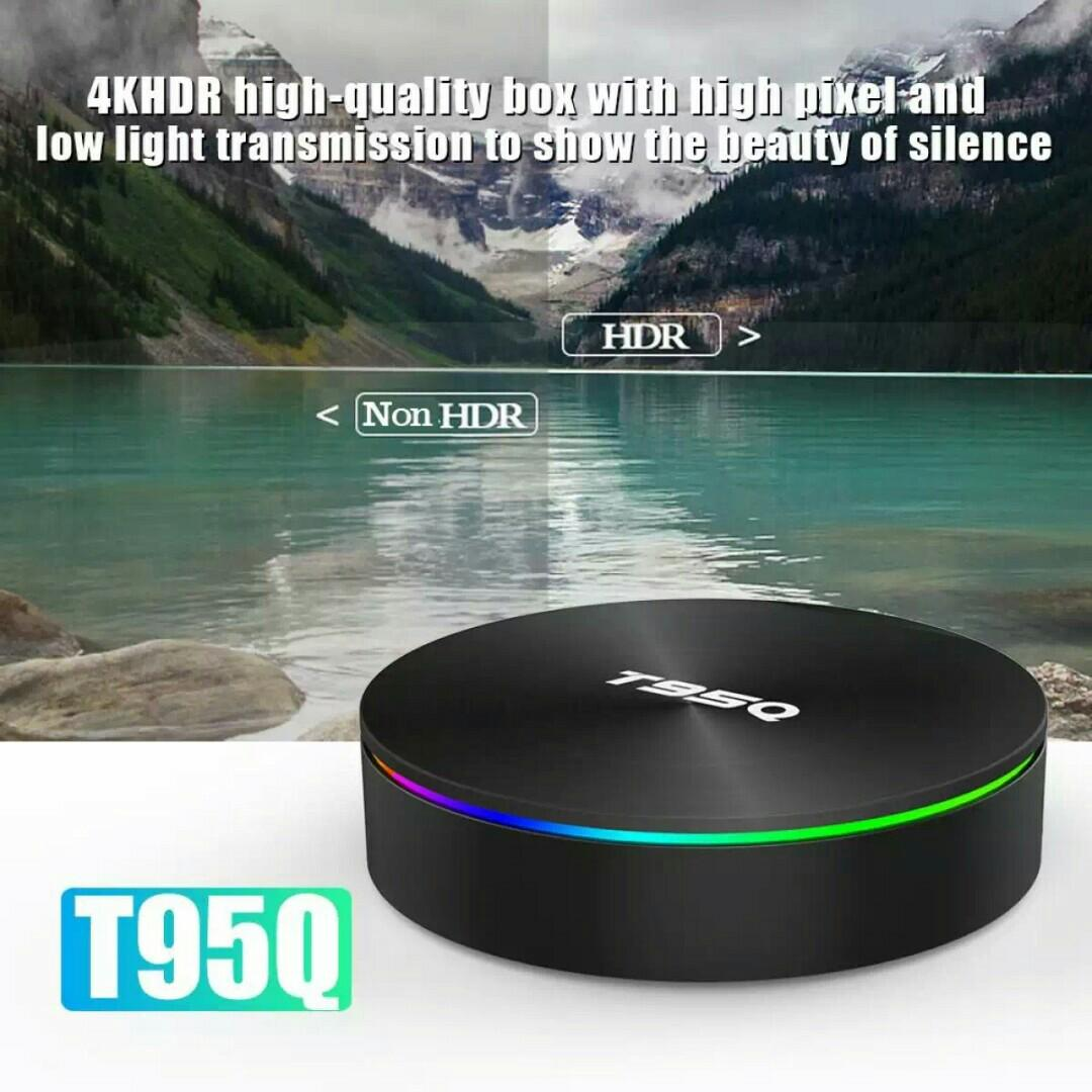 Limited Stock) T95Q Android 8 1 TV Box 64gb Rom 4gb ddr4 Ram