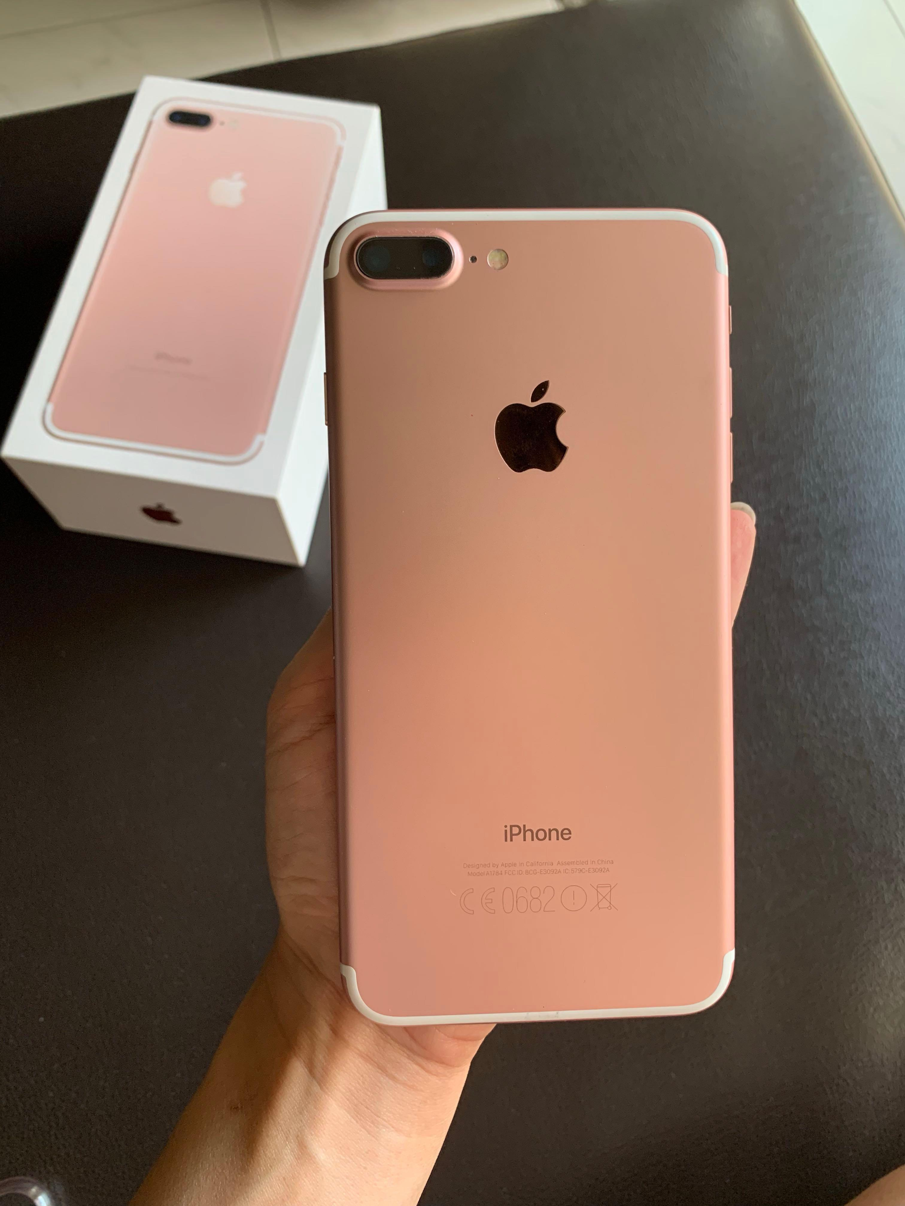 Iphone 7 Plus Rose Gold, Mobile Phones & Tablets, iPhone, iPhone 7 Series  on Carousell