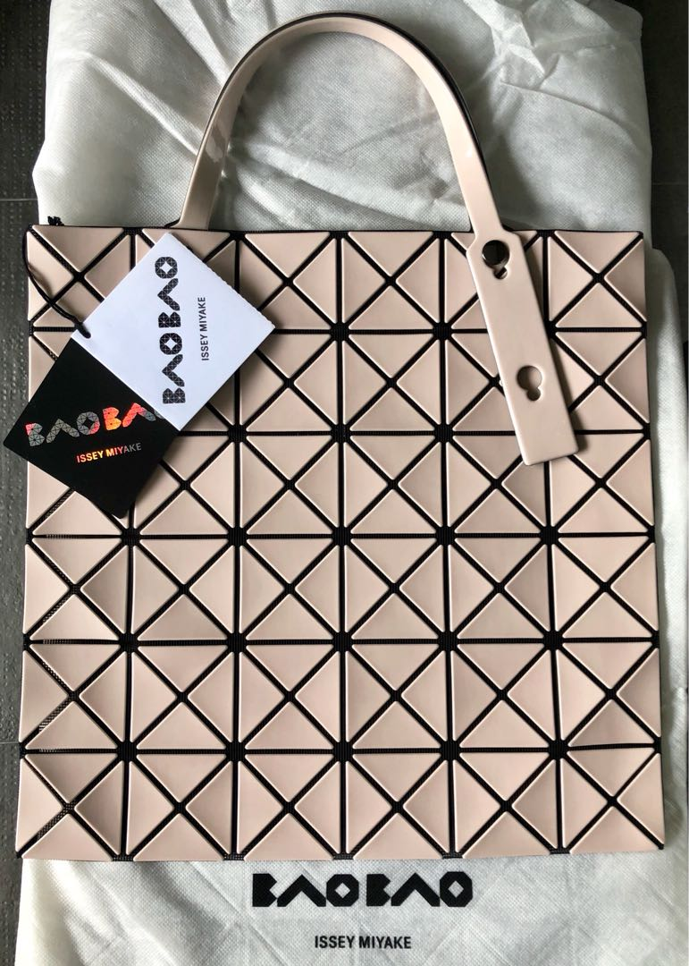 2bab25a3a3 Issey Miyake Bao Bao Brand new 34 x 34cm Lucent Tote Bag in beige ...