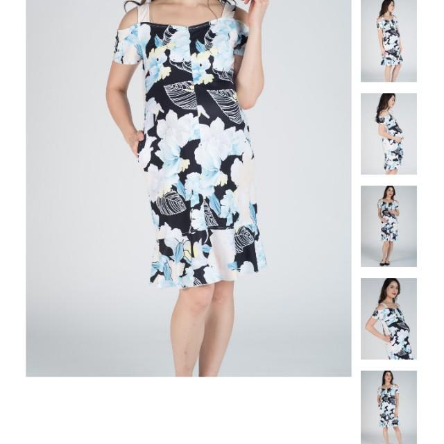 2ef018ed0c612 Jumpeatcry Floral Fishtail Nursing Dress JEC, Women's Fashion ...