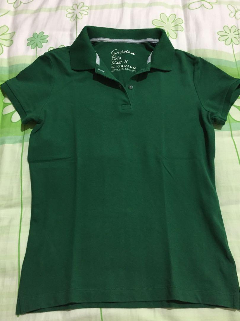 Kaos polo Giordano warna hijau