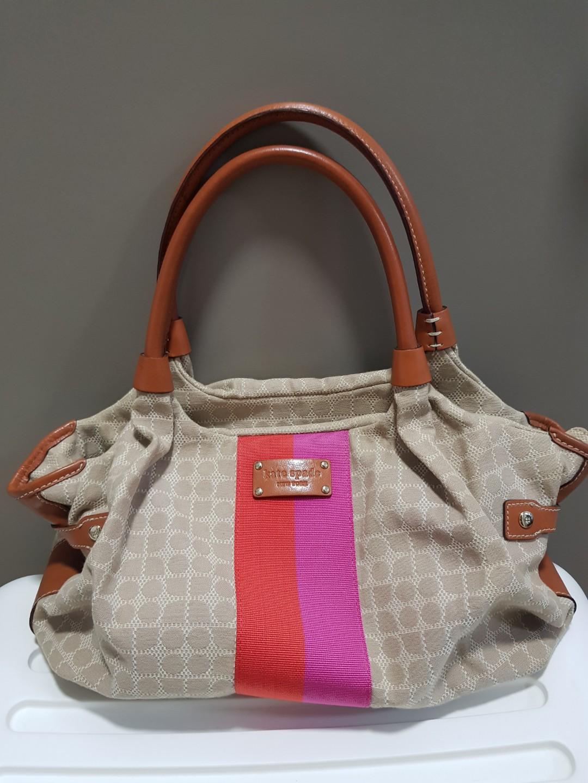1c9fde753dda Kate Spade Diaper Bag, Luxury, Bags & Wallets, Handbags on Carousell