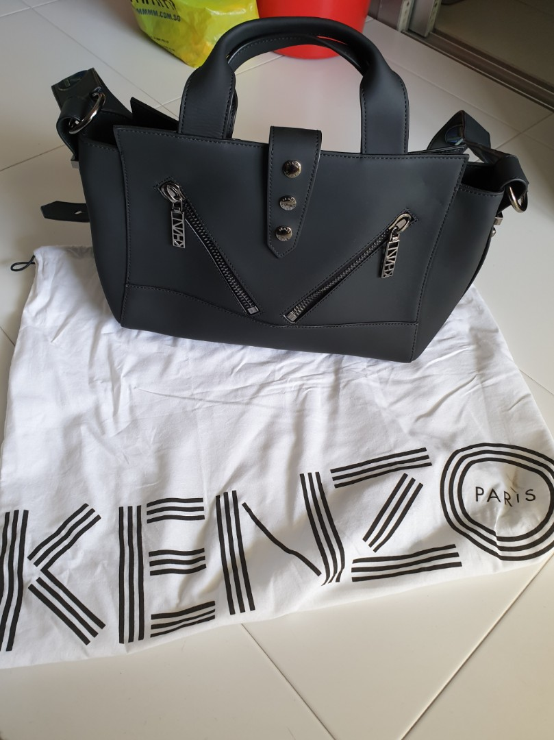 a3d8176cc7 Kenzo Gommato Leather Kalifornia Bag, Women's Fashion, Bags ...