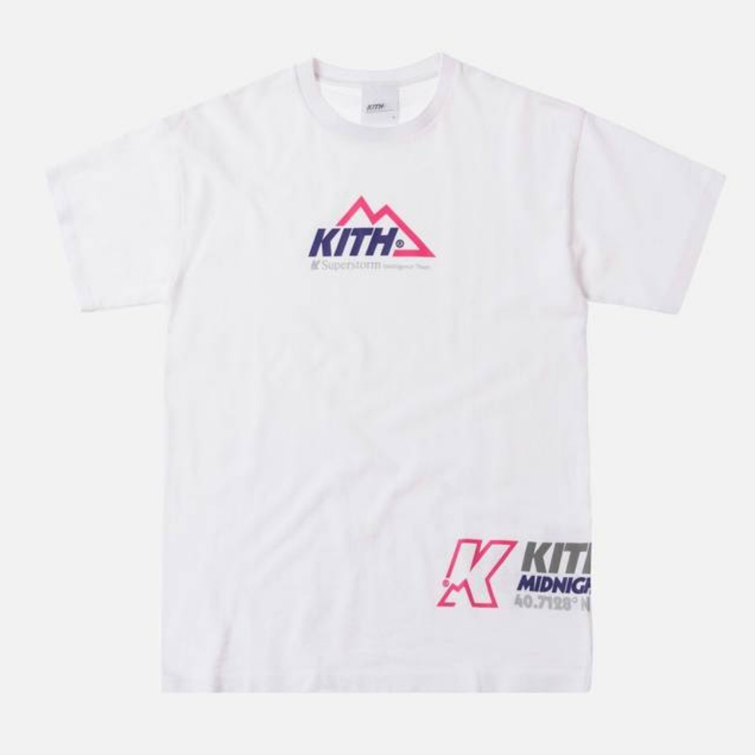 d92c82d0 Kith Nyc Kith Team Tee White, Men's Fashion, Clothes, Tops on Carousell