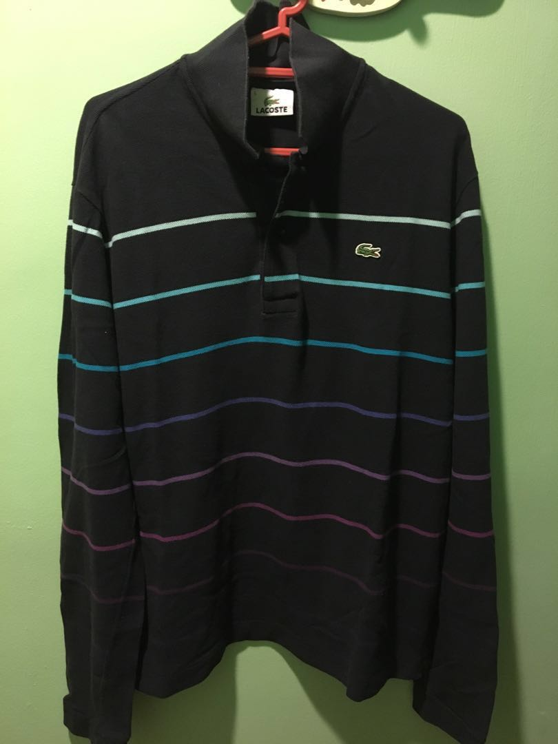 80cf7ac39a Lacoste Long Sleeve Polo Shirt (size 5)